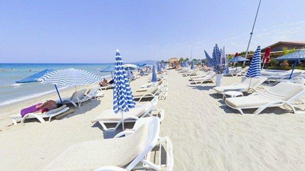 Серебряный пляж кушадасы