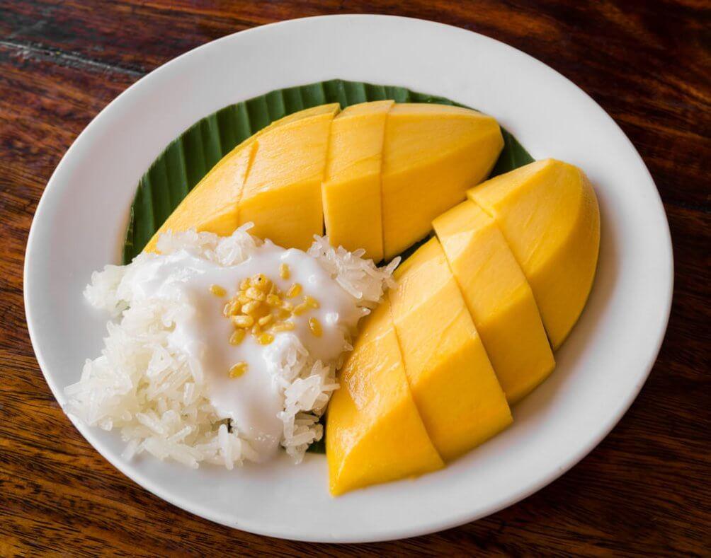 рис с манго в таиланде