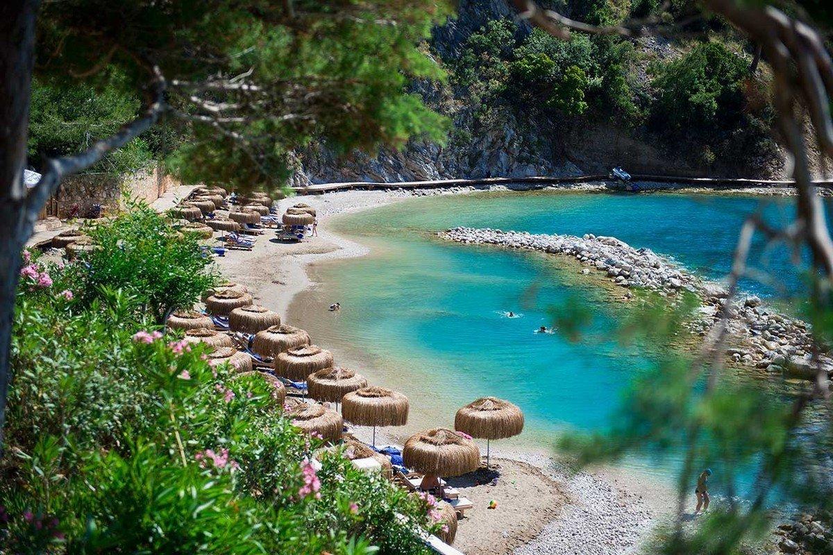 Пляж отеля либерти фетхие