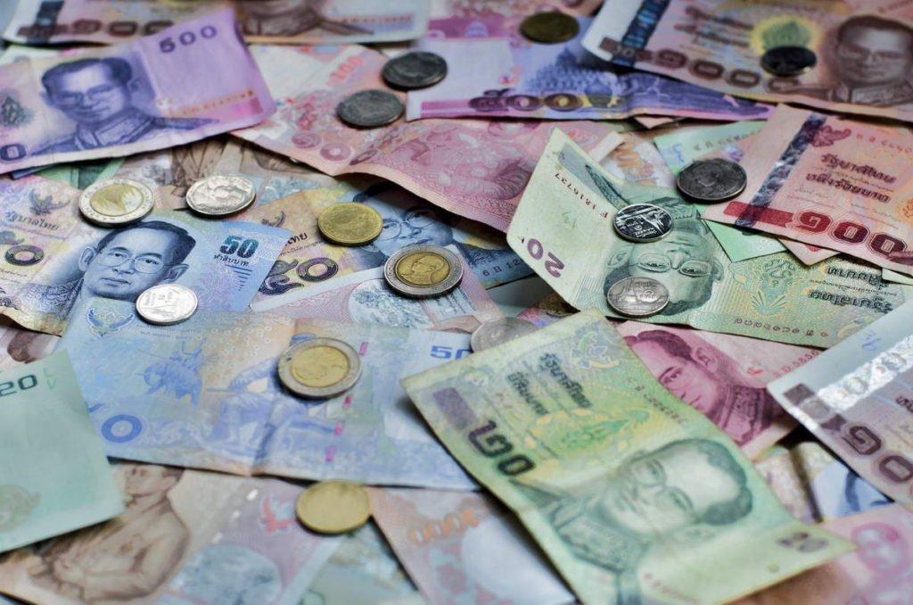 тайские деньги фото курс к рублю распускаются