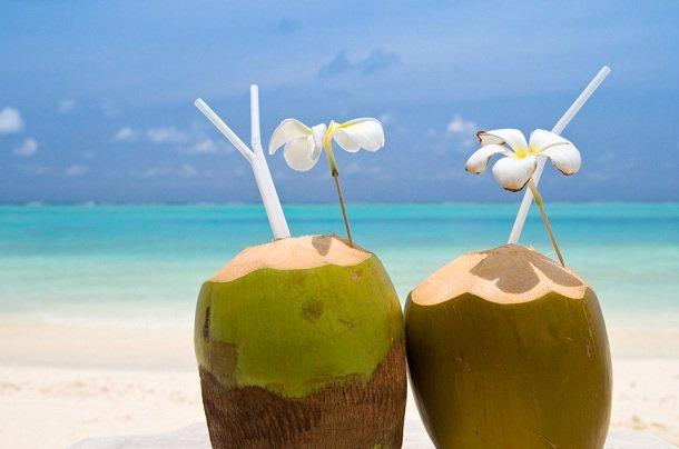 кокосовая вода в таиланде