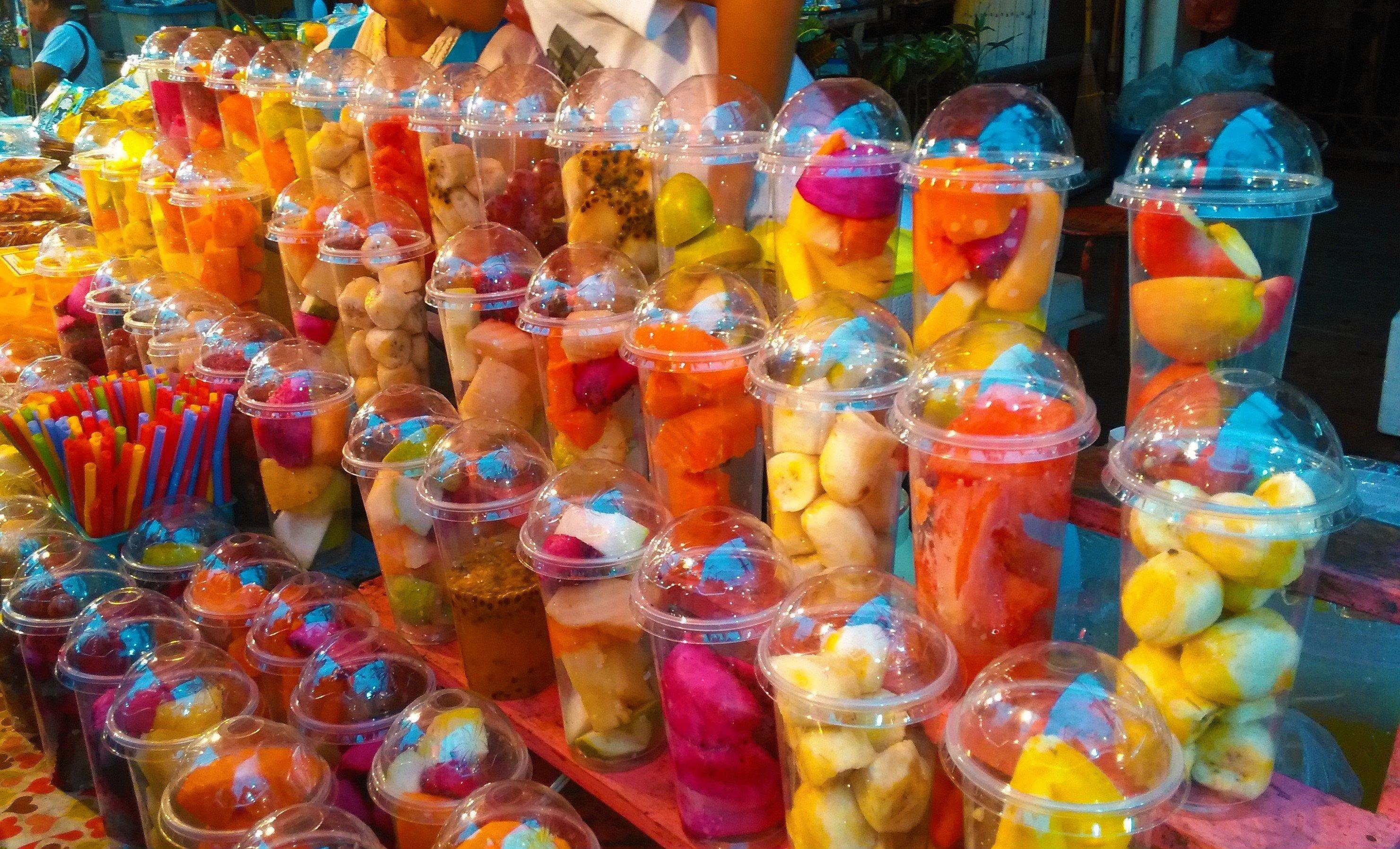 фруктовые шейки в таиланде