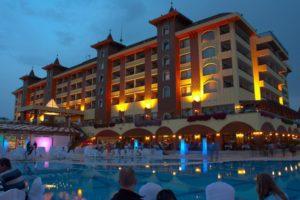 Утопия Ворлд отель Турция