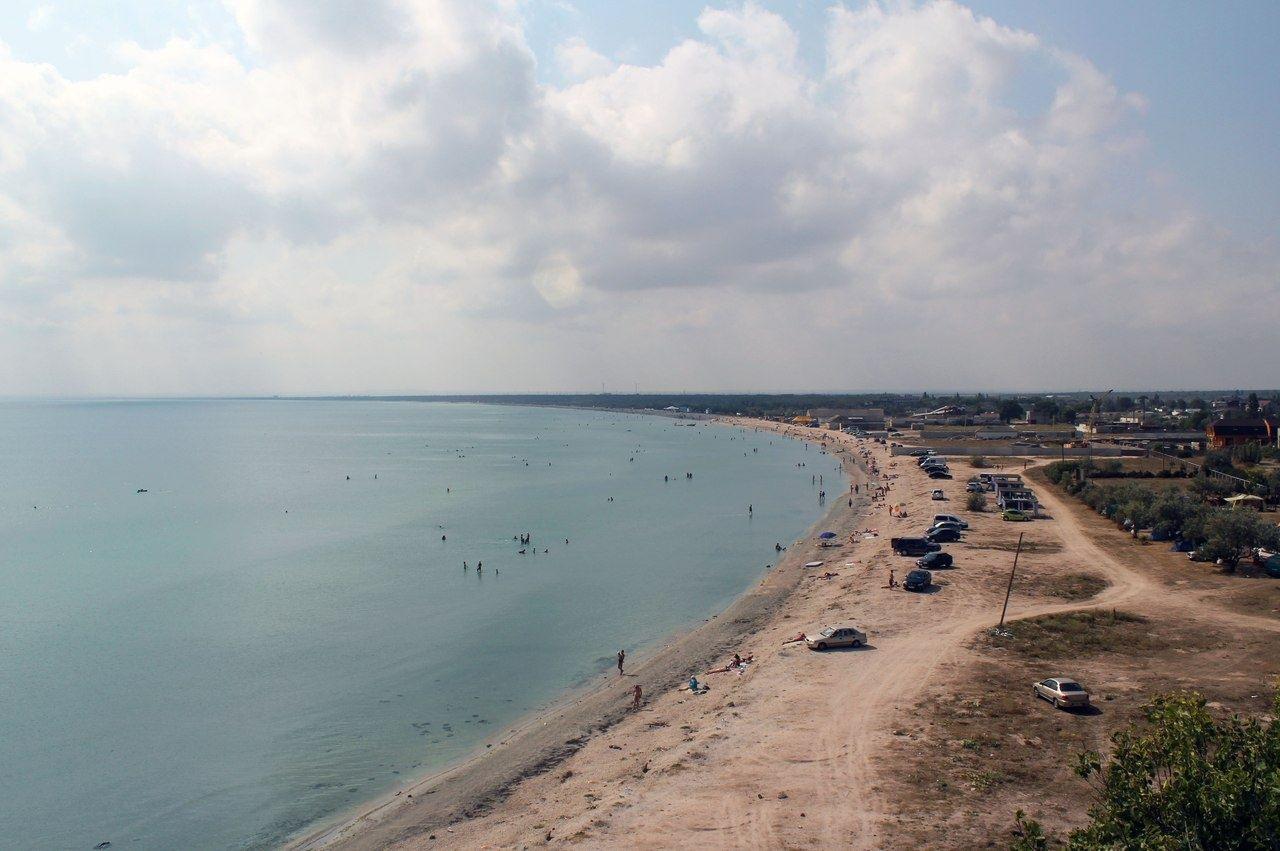 Пляж Лаванда Щелкино Крым