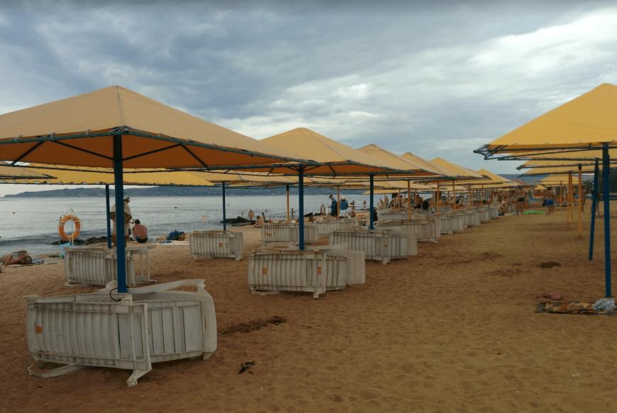 Пляж 117 феодосия береговое крым