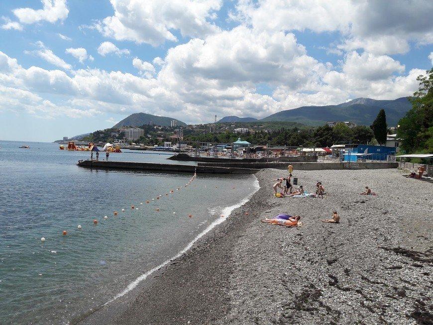 Королевский пляж Алушты Крым