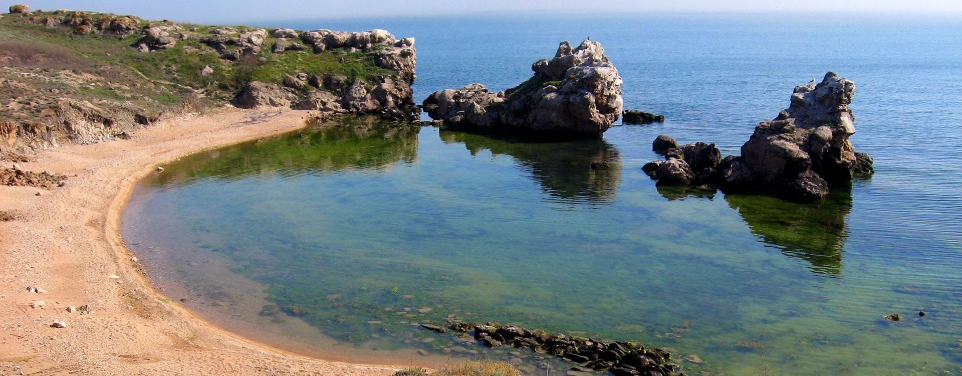 Заповедные пляжи Казантипа Щелкино Крым