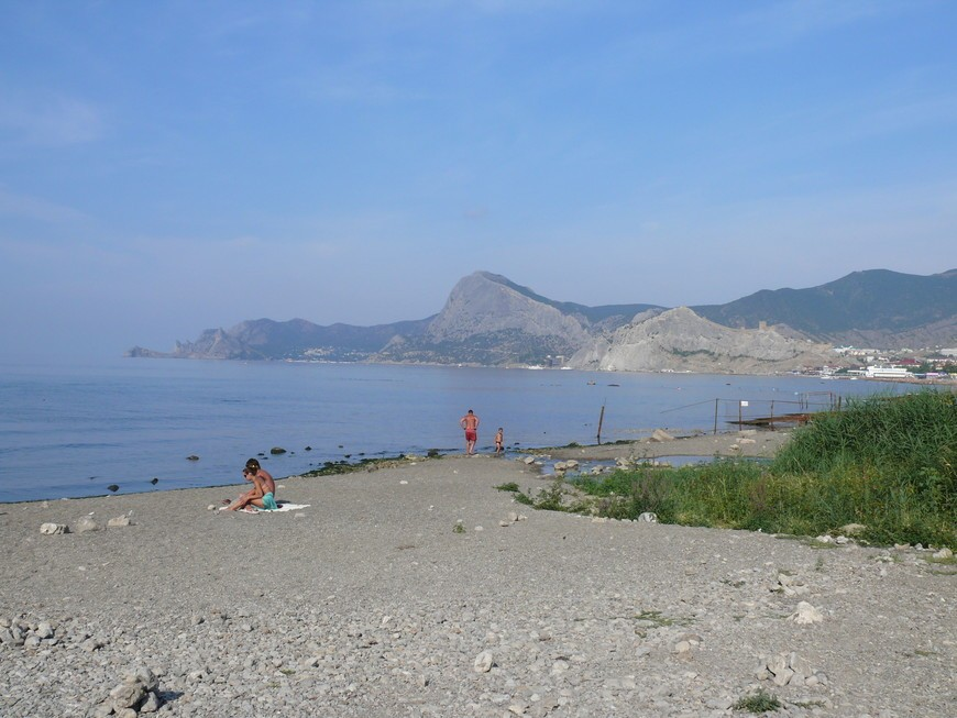 Пляж Алчак Судак Крым