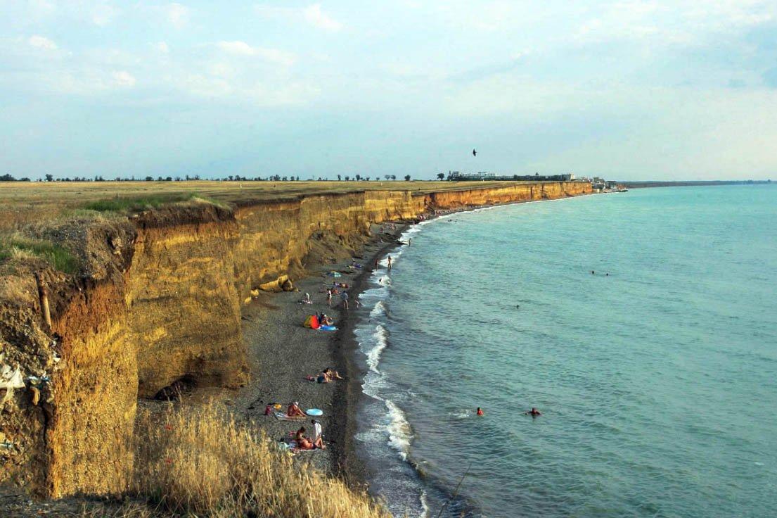 Дикие пляжи Николаевки Крым