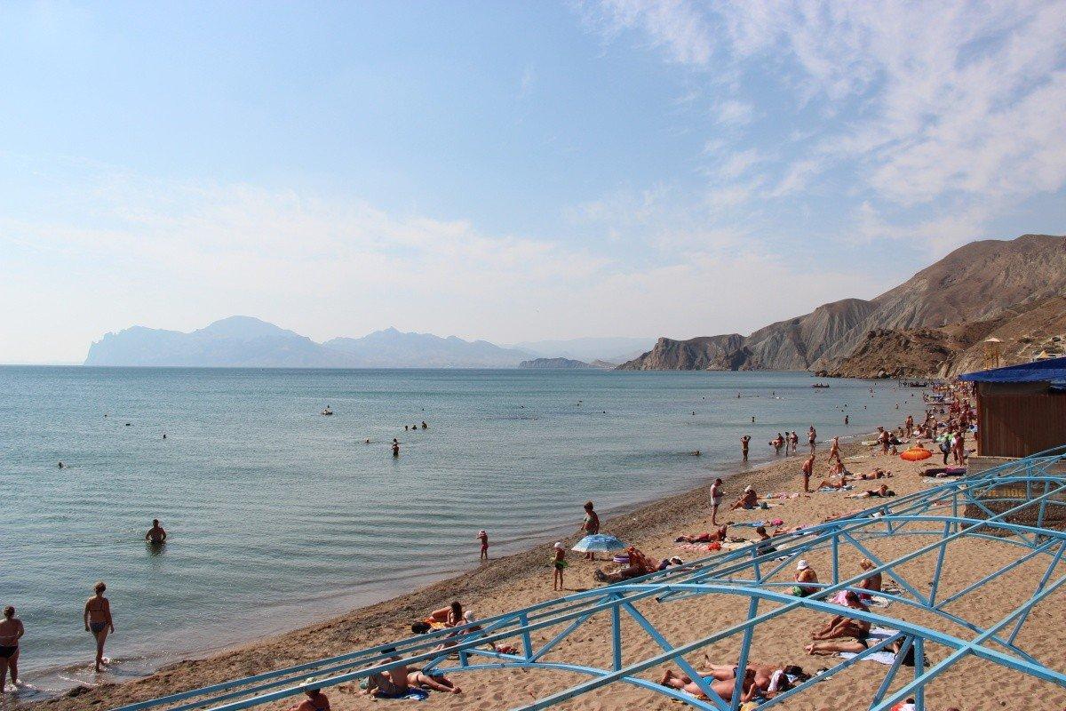 Центральный пляж Орджоникидзе