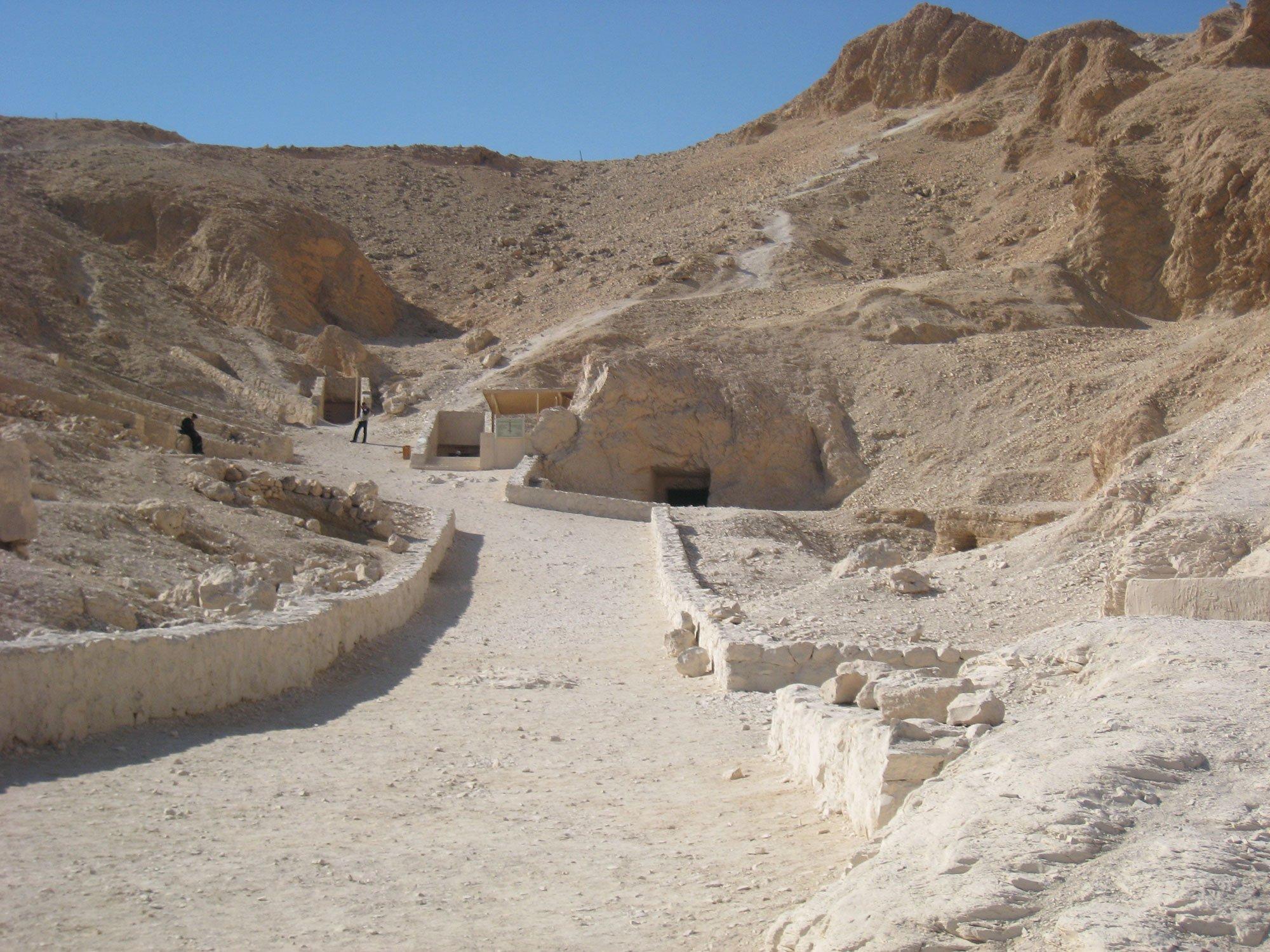 долина цариц египет