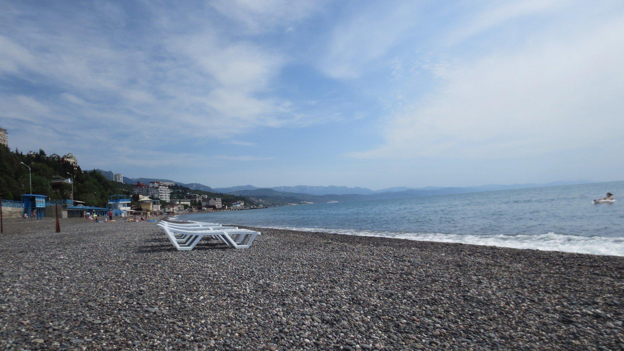 Пляжи Профессорского уголка Алушта