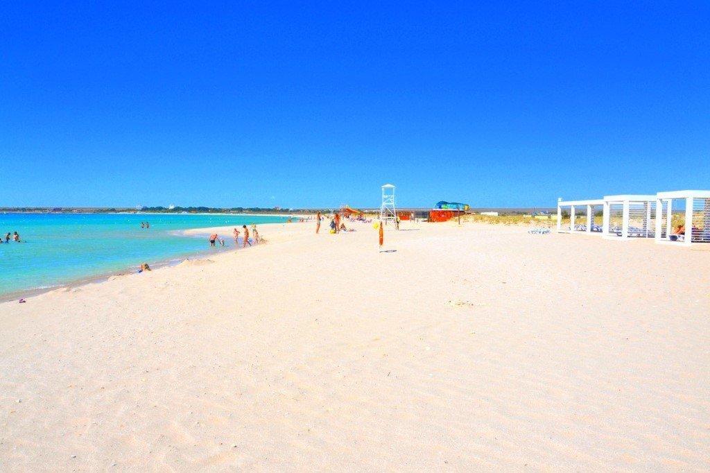 Пляж Майами Оленевка Крым