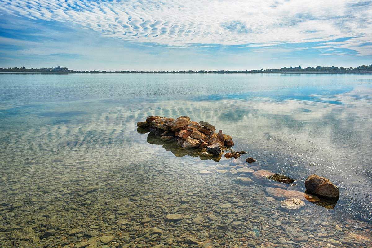 Озеро Мойнакское крым