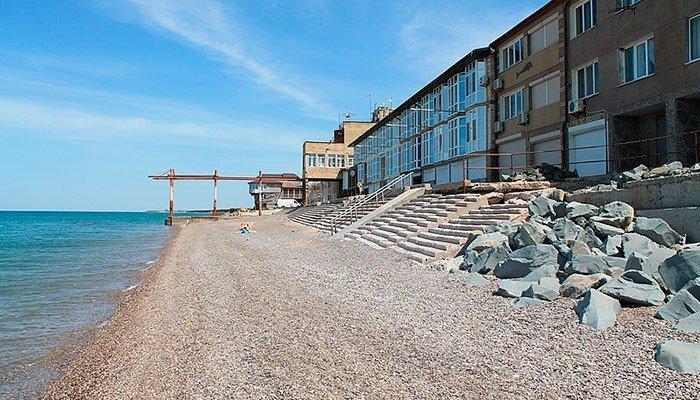 Пляжи эллинги Николаевка Крым