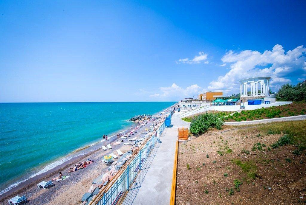 Пляж Скиф Николаевка Крым