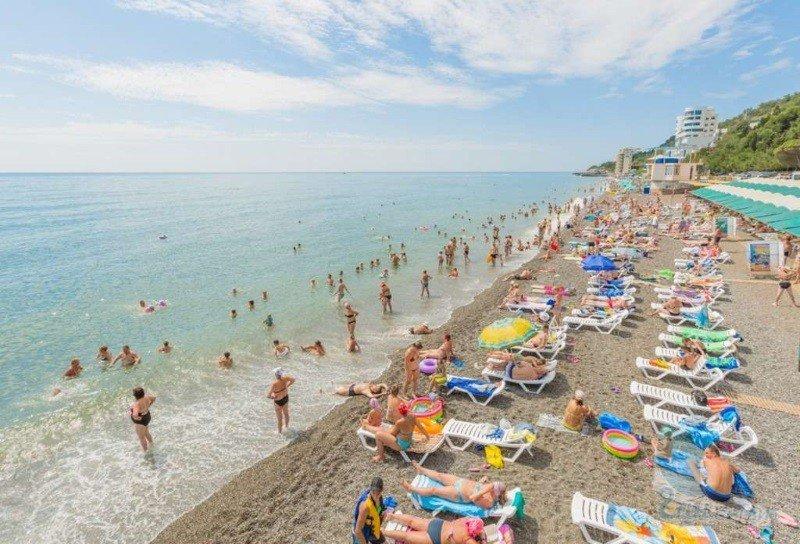 Детский пляж Алушты Крым