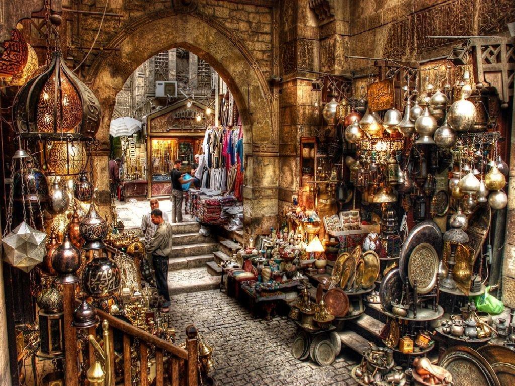восточный базар Каир