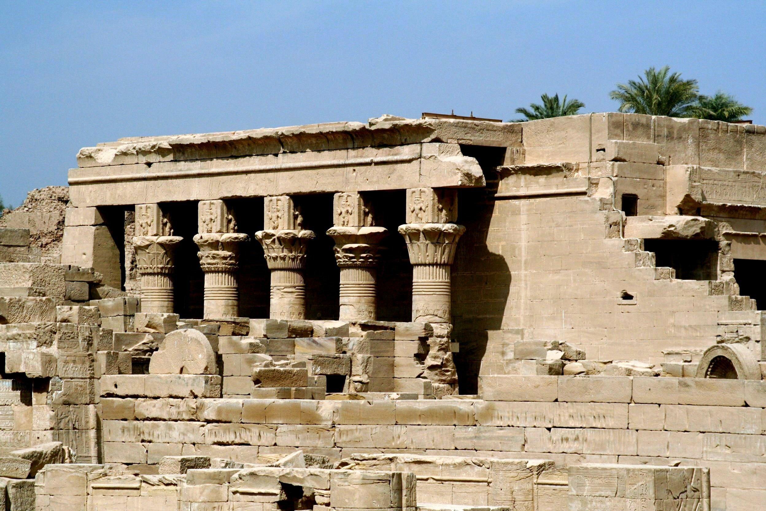 Храм Хотхор египет