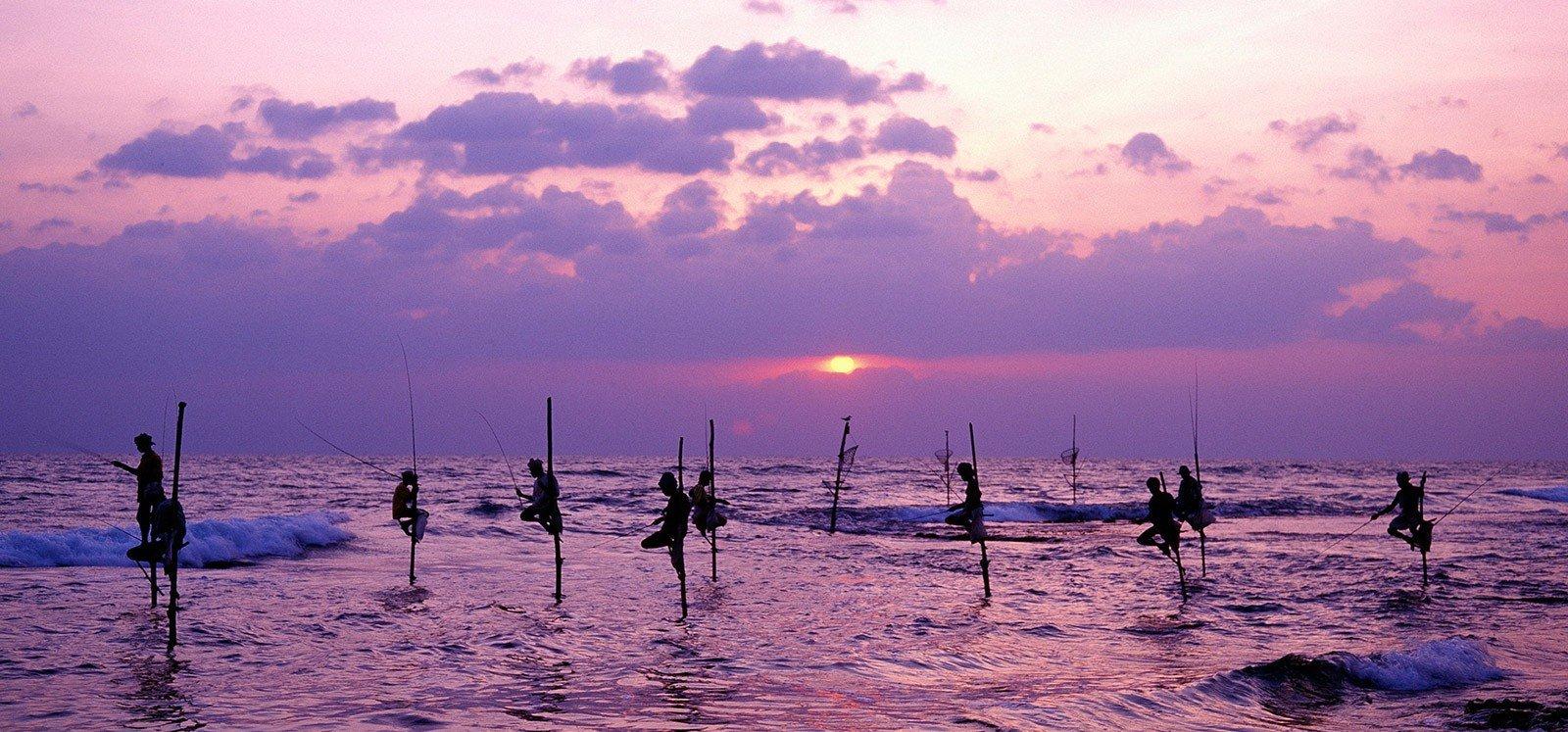 Рыбаки велигамы шри ланка