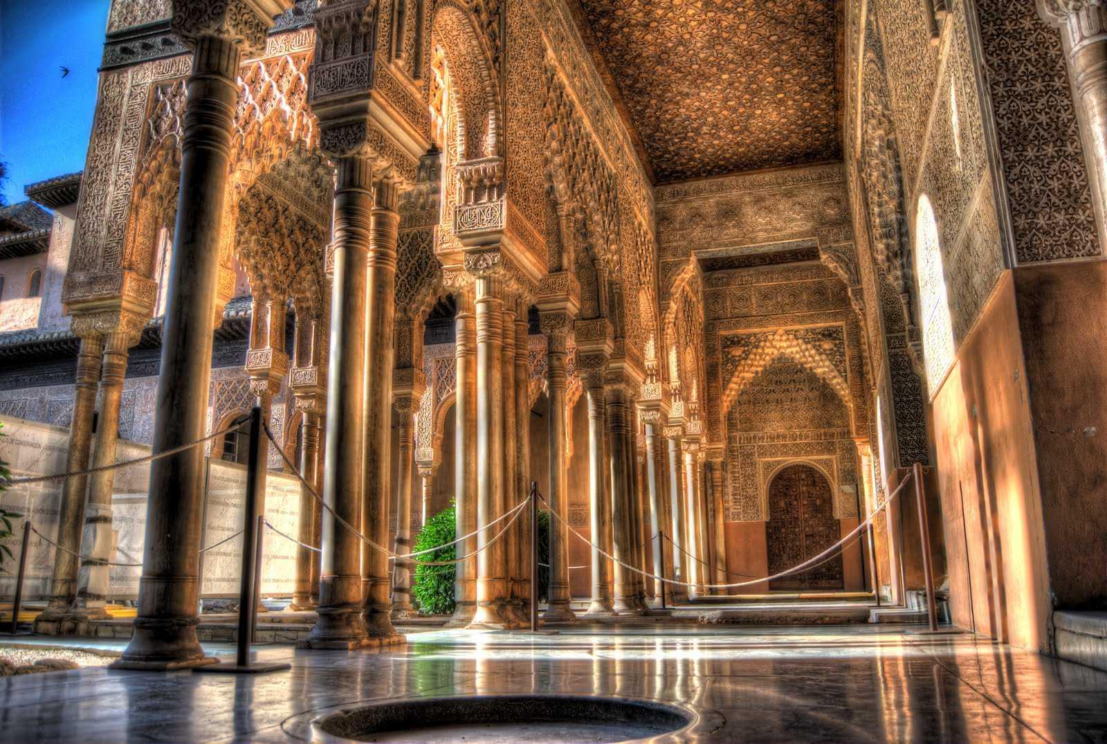 Дворец Альгамбра Гранада