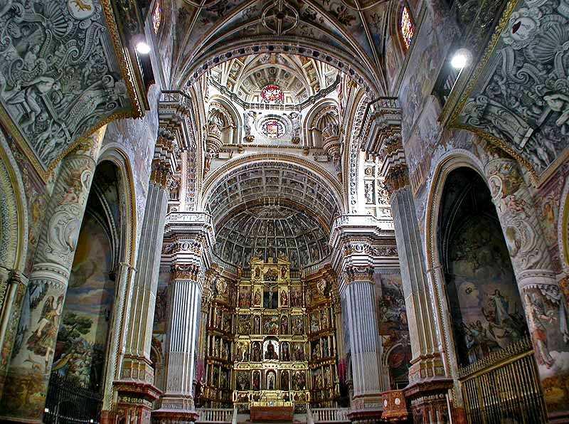 монастырь святого Иеронима Гранада