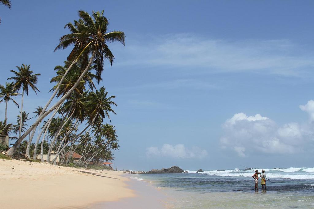 Пляж Галле Шри Ланка