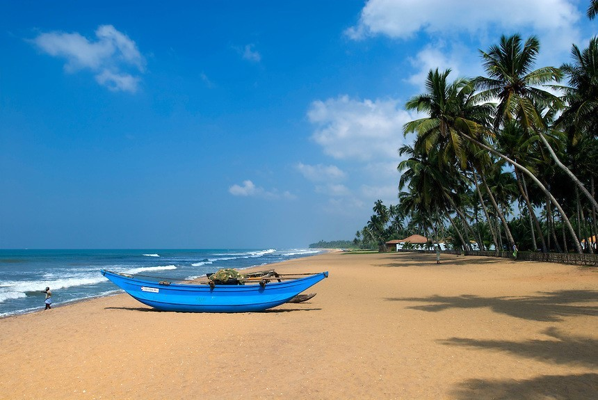 Пляж Калутары Шри-Ланка