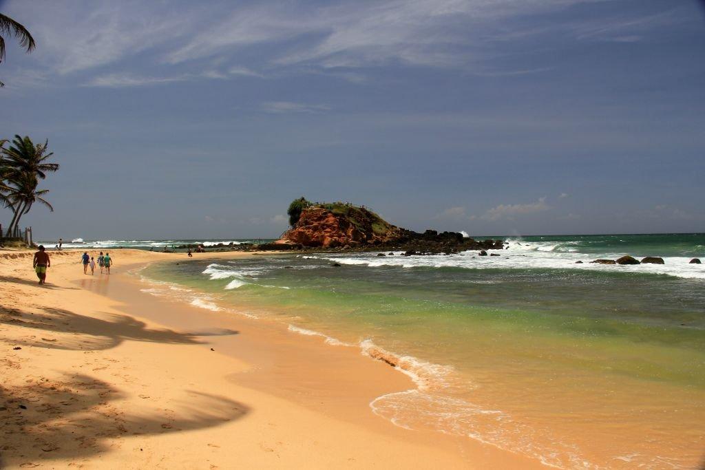 Пляж Мириссы Шри Ланка