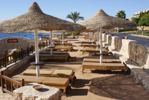 Пляж отеля Hilton Sharks Bay Resort 4*