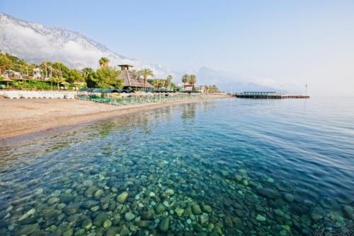 Пляж отеля Amara club marine nature 5*