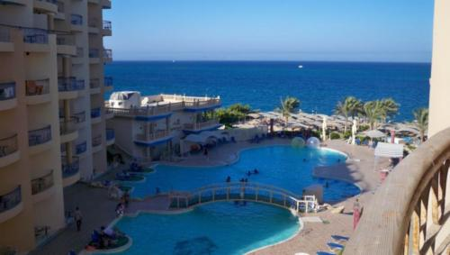 Бассейн отеля Sphinx Aqua Park Beach Resort 5*