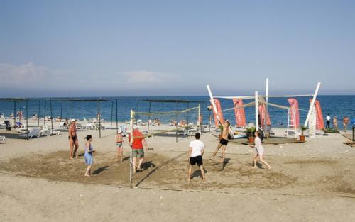 Пляж отеля Club Marakesh Beach Hotel