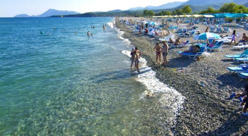 Пляж отеля Daima Biz Resort 5*