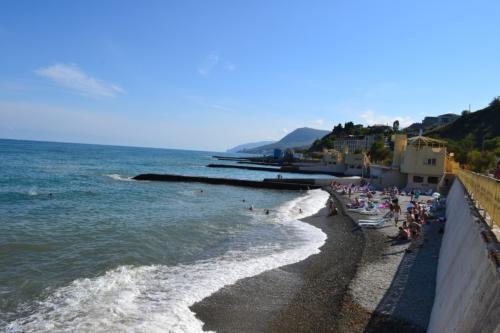 Пляжи Алушты Крым