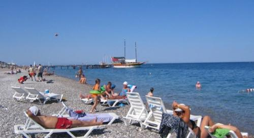 Aura Resort hotel пляж