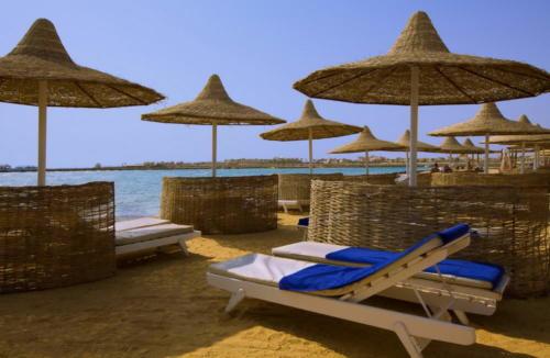 Пляж отеля Ali Baba Palace 4*