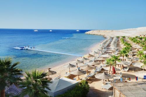 Пляж отеля Savoy Sharm El Sheikh 5*