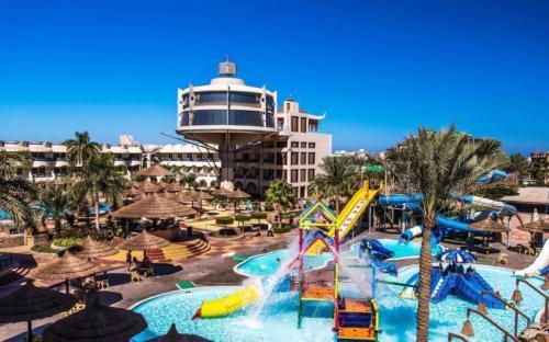 Аквапарк отеля Sea Gull 4* хургада