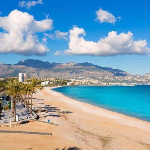 Пляжи Коста Бланки