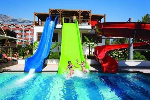 Отель Кристал Кемер Турция аквапарк