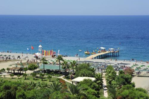 Dinler Hotel 5* пляж