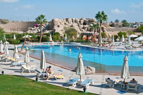 Бассейн отеля Sharm El Sheikh Marriott Resort Mountain 5*