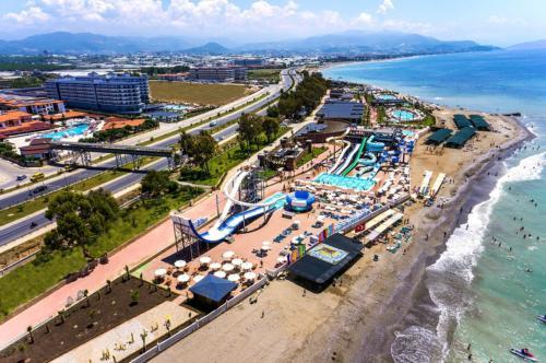 Eftalia Marin hotel пляж