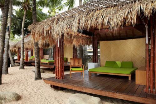 Hard Rock Pattaya Hotel пляжные домики