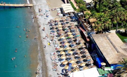 Пляж Холидей Парк резорт