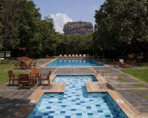 Hotel Sigiriya гора