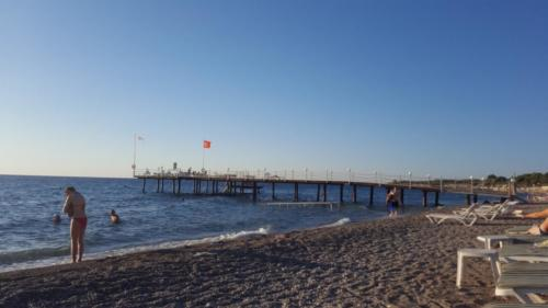 Пляж отеля Larissa mare beach 4*