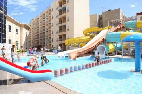 Аквапарк отеля Sphinx Aqua Park Beach Resort 5*