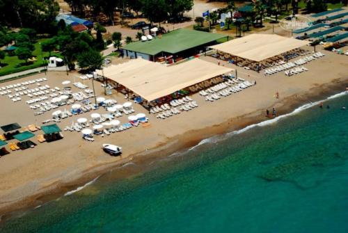 Пляж отеля Май Турция